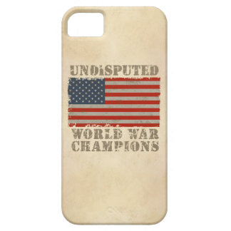 USA, Undisputed World War Champions iPhone 5 Case