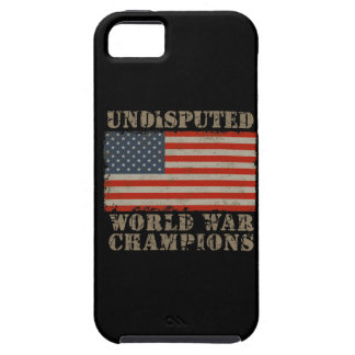 USA, Undisputed World War Champions iPhone 5 Cover