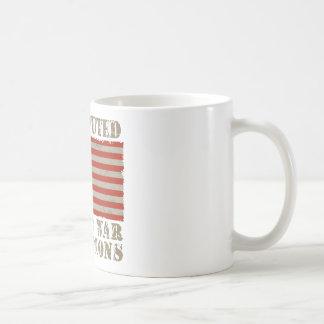 USA, Undisputed World War Champions Classic White Coffee Mug