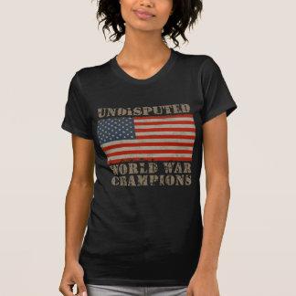 USA, Undisputed World War Champions Tee Shirts
