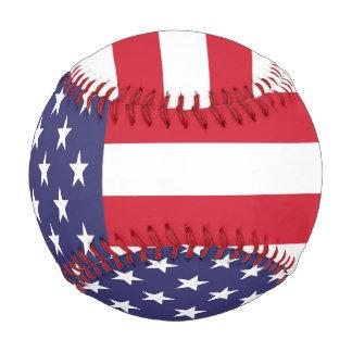 USA United States American Flag Baseball