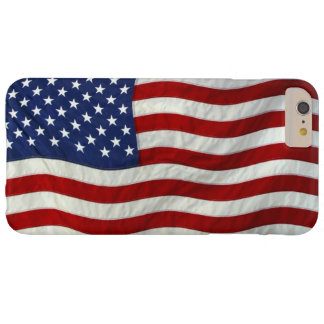 USA United States Flag American Patriotic Design Barely There iPhone 6 Plus Case