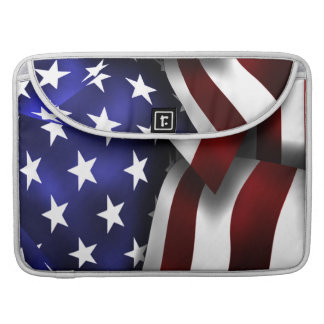 USA United States of America Flag 15 Inch Sleeves For MacBook Pro
