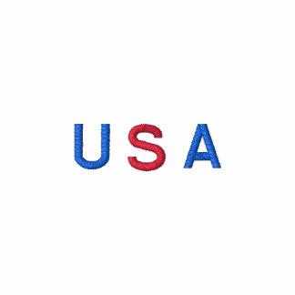 USA United States Of America Flag Embroidered Hoodies