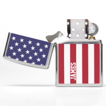 USA United States Of America Personalized Zippo Lighter