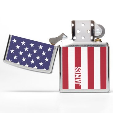 Ricaso_USA USA United States Of America Personalized Zippo Lighter