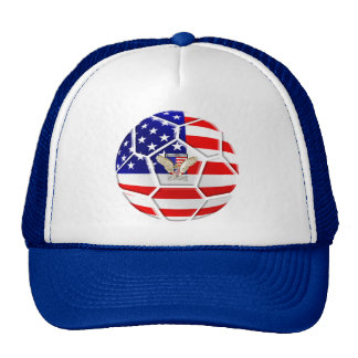 USA United States Soccer Ball gifts for fans Hat