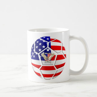 USA United States Soccer Ball gifts for fans Coffee Mug