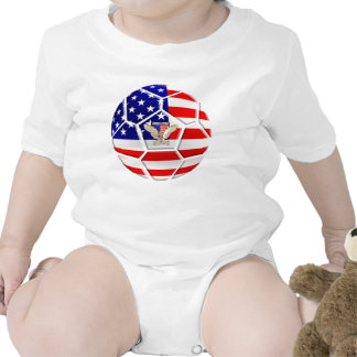 USA United States Soccer Ball gifts for fans Tees