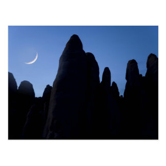 USA, Utah, Arches National Park. Crescent moon Postcard