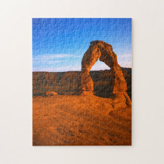 USA, Utah, Arches National Park, Delicate Arch Jigsaw Puzzle