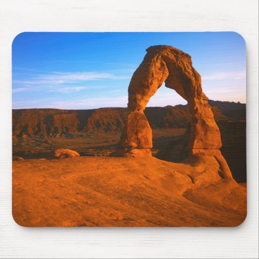 USA, Utah, Arches National Park, Delicate Arch Mousepads