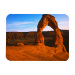 USA, Utah, Arches National Park, Delicate Arch Rectangular Magnets