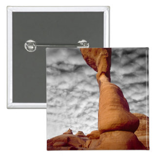 USA, Utah, Arches National Park. Portion of Pinback Button