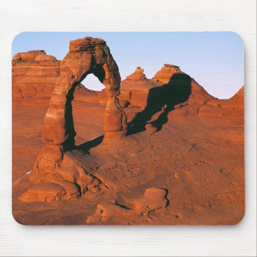 USA, Utah, Arches NP. Delicate Arch is one of Mouse Pads