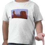 USA, Utah, Arches NP, Full Moon Rising at T-shirts