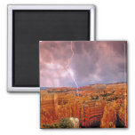 USA, Utah, Bryce Canyon National Park. 2 Inch Square Magnet