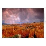 USA, Utah, Bryce Canyon National Park. Greeting Card
