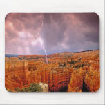 "USA, Utah, Bryce Canyon National Park. Mouse Pad<br><div class=""desc"">USA,  Utah,  Bryce Canyon National Park Lightning storm over the hoodoos from Sunset Point � Dave Welling / Jaynes Gallery / DanitaDelimont.com</div>"