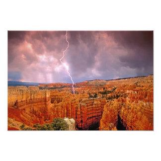 USA, Utah, Bryce Canyon National Park. Photo Print