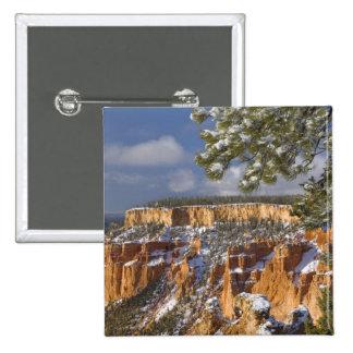 USA, Utah, Bryce Canyon National Park. Sunrise Pinback Button