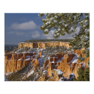 USA, Utah, Bryce Canyon National Park. Sunrise Poster
