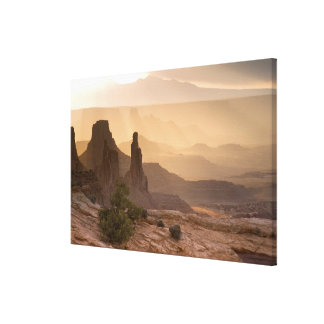 USA; Utah; Canyonlands National Park. View of Canvas Print