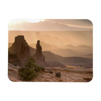 USA; Utah; Canyonlands National Park. View of Magnet