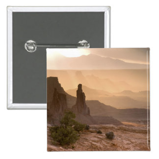 USA; Utah; Canyonlands National Park. View of Pinback Button