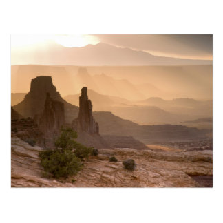 USA; Utah; Canyonlands National Park. View of Postcard