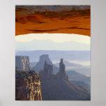 USA, Utah, Canyonlands National Park, View of Poster