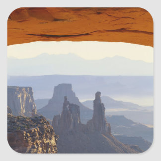 USA, Utah, Canyonlands National Park, View of Square Sticker