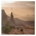 USA; Utah; Canyonlands National Park. View of Tile