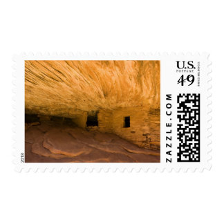 USA, Utah, Cedar Mesa, Mule Canyon. Sandstone Postage