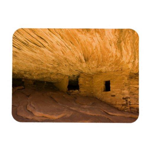 USA, Utah, Cedar Mesa, Mule Canyon. Sandstone Flexible Magnets