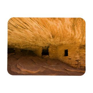 USA, Utah, Cedar Mesa, Mule Canyon. Sandstone Rectangular Photo Magnet