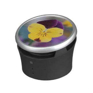 USA, Utah, Close-Up of Viola tricolor in garden Bluetooth Speaker