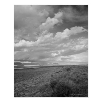 USA, Utah, Clouds over landscape Posters