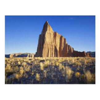 USA, Utah, Colorado Plateau, Lower Cathedral Postcard