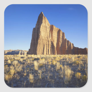 USA, Utah, Colorado Plateau, Lower Cathedral Square Sticker