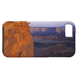 USA, Utah, Dead Horse Point SP. Late light turns iPhone 5 Case