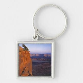 USA, Utah, Dead Horse Point SP. Late light turns Keychain