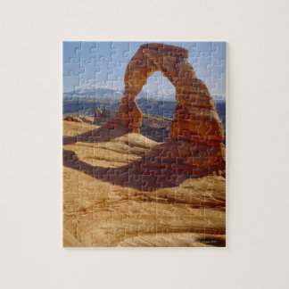 USA, Utah, Delicate Arch Jigsaw Puzzle