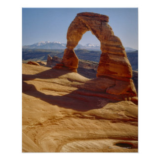 USA, Utah, Delicate Arch Poster
