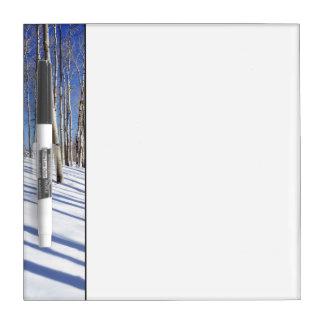 USA, Utah, Dixie National Forest, Aspen Grove Dry Erase Board