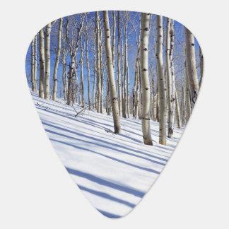 USA, Utah, Dixie National Forest, Aspen Grove Guitar Pick