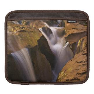 USA, Utah, Escalante Wilderness. Waterfall in 2 iPad Sleeve