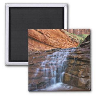 USA, Utah, Escalante Wilderness.  Waterfall in Magnet