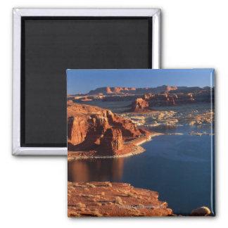 USA, Utah, Glen Canyon National Recreation Area 2 2 Inch Square Magnet