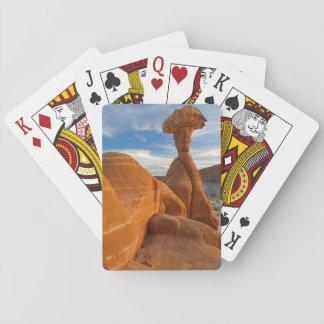 USA, Utah, Grand Staircase Escalante-National Playing Cards